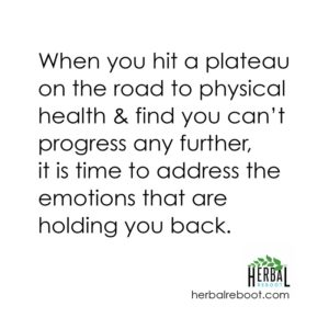 physical and emotional plateau
